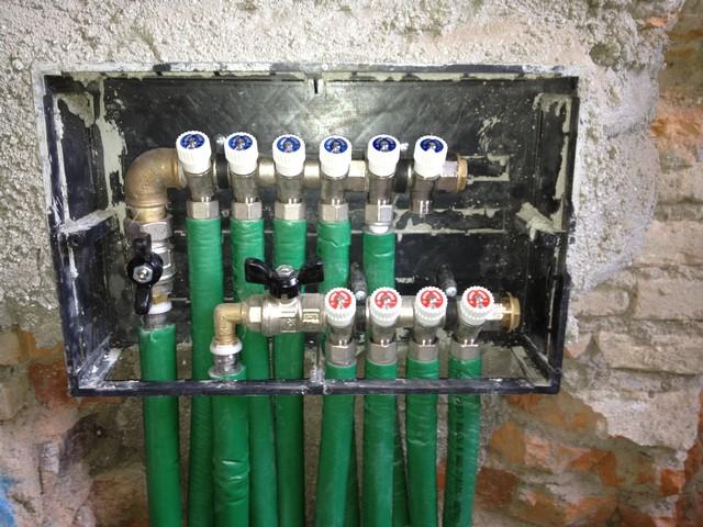 Tubazioni acqua riscaldamento a pavimento impianti termoidraulici - Diametro tubo multistrato per bagno ...