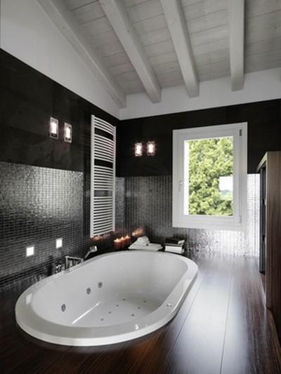 ristrutturazione bagni bergamo - riscaldamento a pavimento ... - Realizzazione Bagni Moderni