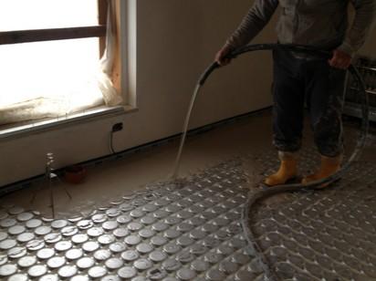 Composizione massetto riscaldamento a pavimento - Collettori per riscaldamento a pavimento ...